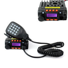 Mini-8900 Mobile Transceiver Car Radio UHF 20W+VHF Alarmfor Bus Car UK Promotion
