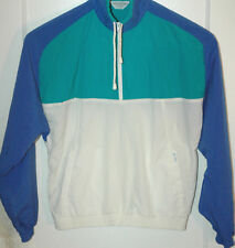 VTG Christian Dior PULLOVER Jacket COLORBLOCK TENNIS Retro 80's Windbreaker