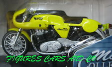 MOTO 1/18  750 NORTON COMMANDO PRODUCTION RACER   majorette SOLIDO