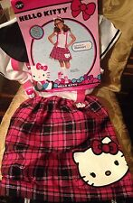 NWT Teen Girls Hello Kitty Costume/Fancy Dress Outfit Size M Age 11-12
