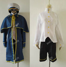Anime Vocaloid 3 Oliver Uniform Halloween Cosplay Costume Custom Any Size