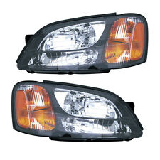 00-04 Legacy GT/Limited/Outback Headlight Assembly Driver Passenger Side Pair