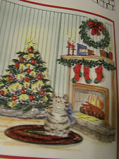 Christmas Garland RETIRED Uget photo2L@@K@examples Art IMPRESSIONS RUBBER STAMPS