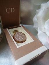 DIOR-DIOR CHRISTIAN DIOR SUPERB VINTAGE 1976 PARFUM MICRO MINI PEBBLE NrMint BOX