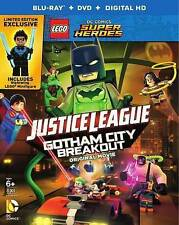 LEGO JUSTICE LEAGUE GOTHAM CITY BREAKOUT (BLU-RAY) NEVER WATCHED BLU-RAY ONLY