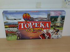Topeka On Board Opoly Board Game-Complete Very Good Condition