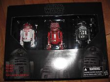 Star Wars Astromech Droid Pack * R2-A3 * R5-K6 * R2-F2 * The Black Series NEW