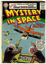 MYSTERY IN SPACE #33 (DC 1956; fn- 5.5) guide value: $68.00/£45.00