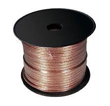 Cable haut parleur 2 X 2.5 -9 m hp Transparent cable hp 9 metres