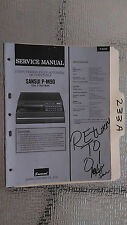 Sansui p-m90 service manual original repair book stereo turntable record player