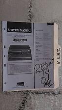 Sansui p-m90 service manual original repair book stereo turntable record player