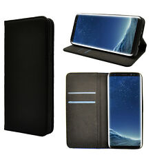 iDefend Samsung Galaxy S8 Plus Leather Magnetic Wallet Case Cover + Protector