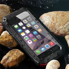 LUXURY SHOCKPROOF WATERPROOF GORILLA GLASS ALUMINUM METAL CASES FOR IPHONE 5S/5
