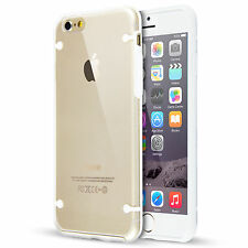 For iPhone SE 5 5S 6 6s 7 Plus Slim Transparent Clear Thin Hard TPU Case Cover