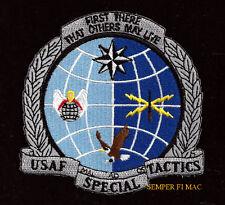 US AIR FORCE SPECIAL TACTICS PATCH USAF VET MAL AD OS AFB AFSOC JSOC SOCOM CSAR