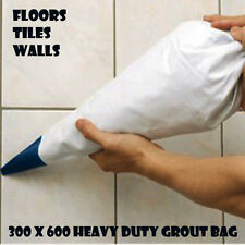 GROUT BAG 300 x 600 MM Grouting TILE FILLING BATHROOM WALL FLOOR BUILDING P61
