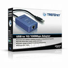 TRENDnet TU2-ET100 10/100 USB Ethernet Adapter * For Macbook Air and Windows PC