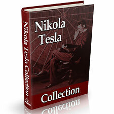 Nikola Tesla Collection of Books Vintage Books on DVD Science History Tesla Coil