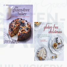 Hannah Miles Collection The Gluten-free Baker,Gluten-free Christmas 2 Books Set