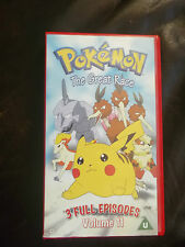 *RARE* ORIGINAL POKEMON VHS VIDEO~VOLUME 11~THE GREAT RACE~NEW & SEALED