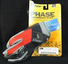 THOR PERFORMANCE GLOVES (pr) S9 PHASE ADULT XS-PT NO-3330-1516-NWT