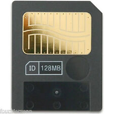 128 MB MEG SMART MEDIA SM MEMORY CARD 3.3V SSFDC YAMAHA QY 100 SEQUENCER CD ZW2
