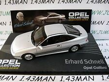 OPE136 1/43 IXO designer serie OPEL collection : CALIBRA E.Schnell silver