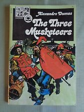 The Three Musketeers Illusted Pendulum Press 1974 Alex Nino VF GN TPB