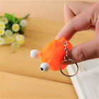 Cute Animal Squeeze Toy Pop Out Eyes Doll Stress Relief Keyring Key Chain Ring