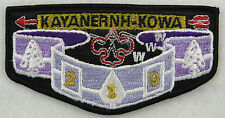 OA Lodge 219 Kayanernh-kowa S2 Flap WHT WWW GMY 219  [MS430]