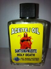 MYSTICAL / SPIRITUAL OIL FOR SPELLS & ANOINTING 1/2 OZ HOLY DEATH SANTA MUERTE