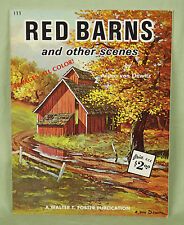 Walter T Foster Painting Book Instructions How To Red Barns Other Scenes 111 EUC