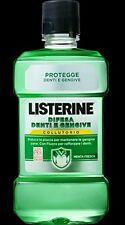 10 X Colluttorio Listerine 500 ML Menta Fresca Formato Scorta Super Convenienza