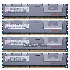 Hynix 32GB 4x8GB 2Rx4 PC3-12800R DDR3-1600Mhz 240Pin ECC Registered Server RAM