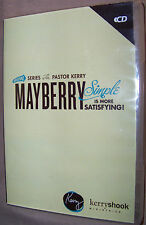 KERRY SHOOK MINISTRIES - Mayberry Simple Is More Satisfying! 5-Disc CD Audio Set