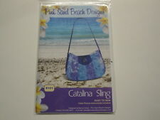 Catalina Sling Bag/Purse-Pink Sand Beach Designs-Easy to Sew