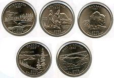 2005-D State Quarters Coin Set - Denver Mint - ST25C KZ611