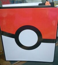 Ultra Pro Pokemon Pokeball  Poke Ball  2 inch 3 Ringed Album Binder For Cards