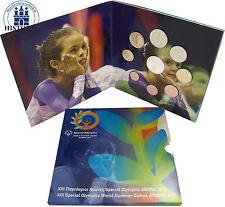 Griechenland 13,88 Euro 2011 Stgl. KMS 1 Cent bis 2 Euro mit 10 EUR PP Stadion
