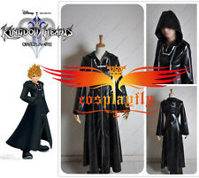 Kingdom Hearts 2 Organization XIII Cosplay Costume Custom With Chain W0049