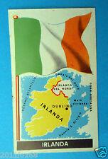 figurines stickers picture cards figurine bandiere del mondo folgore 21 irlanda