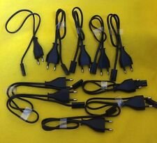 Lot of 10 Volex power cords 1913