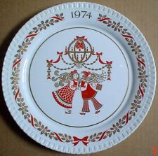Spode Collectors Plate CHRISTMAS 1974