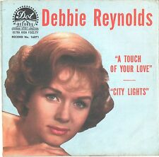 DEBBIE REYNOLDS--PICTURE SLEEVE ONLY---(CITY LIGHTS)--PS---PIC---SLV