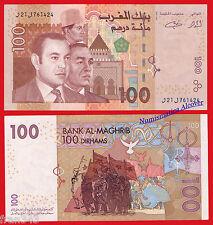 MARRUECOS MOROCCO 100 dirhams 2002 Pick 70  SC / UNC