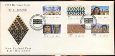 New Zealand 1990 The Maori FDC First Day Cover #C12800