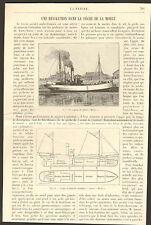 PECHE A LA MORUE TERRE_NEUVE VAPEUR HECLA ARTICLE PRESSE PAR DE MERIEL 1904