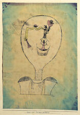 The Beginnings of a Smile Paul Klee Lachen Gesicht Figuren Kopf B A3 03033