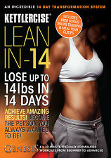 NEW Kettlercise LEAN IN-14 Home Workout NEW FOR 2016 BEGINNER TO ADVANCED DVD