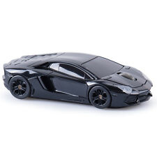 Landmice Lamborghini Aventador LP700-4 Car Wireless Computer Mouse - Black